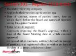 section 301 register of contracts