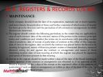 ss 4 registers records u s 301