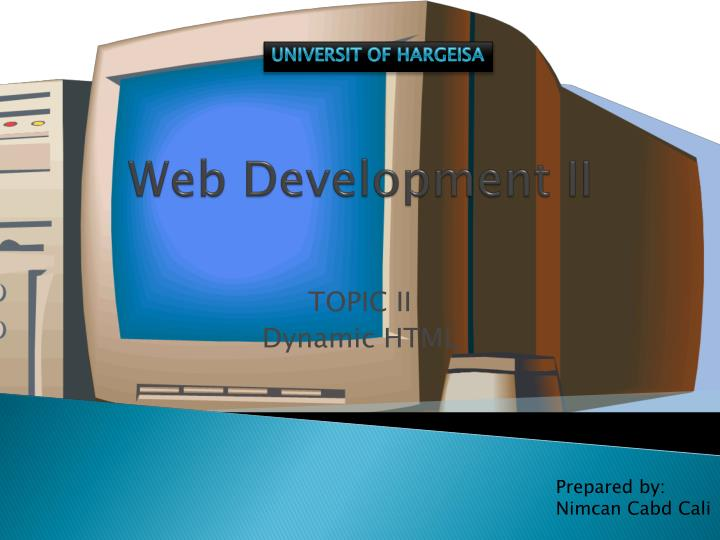 web development ii n.