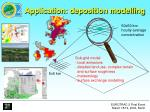 application deposition modelling
