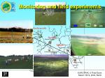 monitoring and field experiments