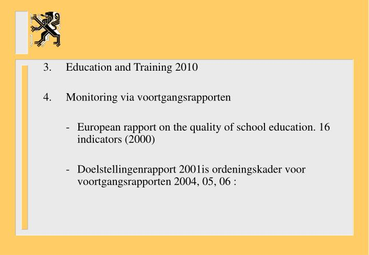 3.Education and Training 2010