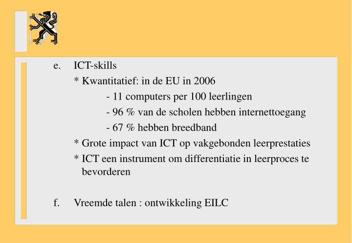 e.ICT-skills