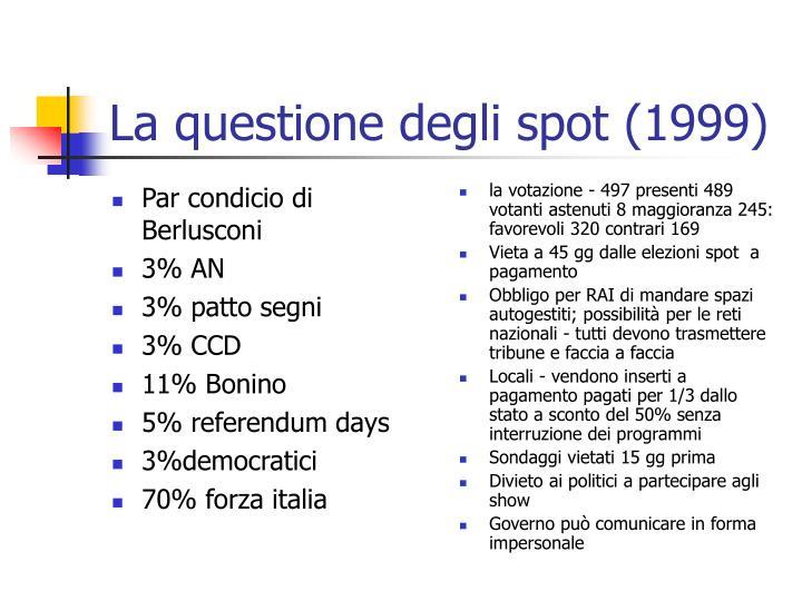 Par condicio di Berlusconi