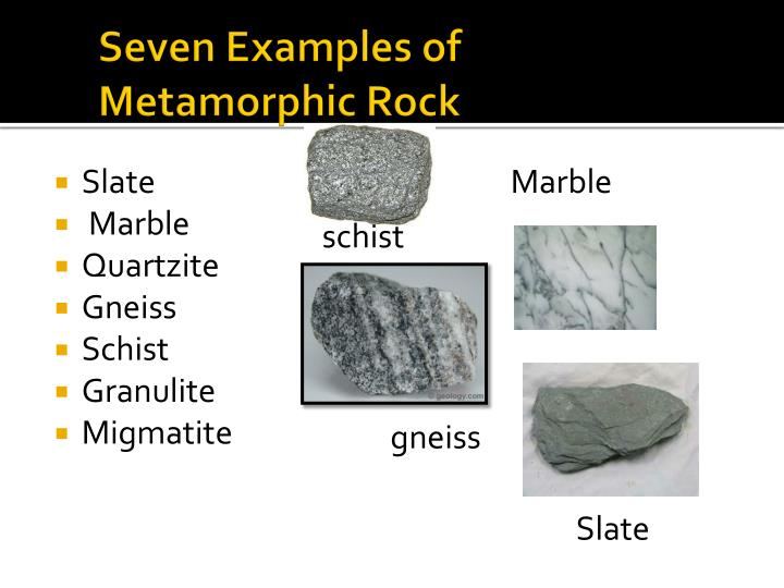 Ppt Metamorphic Rock Powerpoint Presentation Id3678175