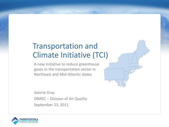transportation and climate initiative tci n.