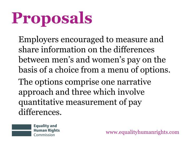 Proposals