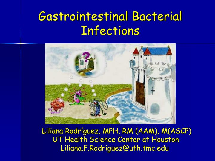 gastrointestinal bacterial infections n.