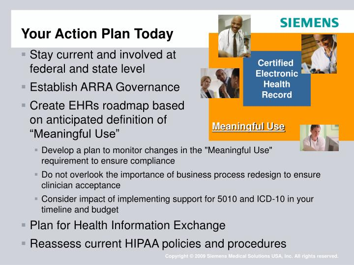 Your Action Plan Today