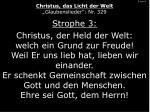 3 von 4 christus das licht der welt glaubenslieder nr 329