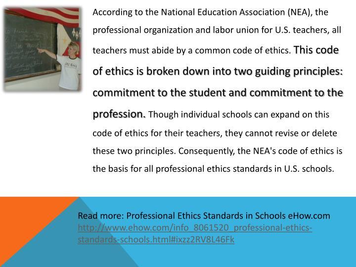 teachers code of ethics florida