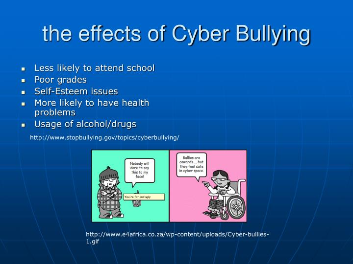 the effects on cyberbullying The anonymity of the internet presents opportunities for harmful cyberbullying among teens, but there is also a growing number of adult victims of cyberbullyingwhen this act exacerbates or triggers social anxiety, specialized, compassionate treatment can help people heal from cyberbullying and social anxiety in a safe environment.