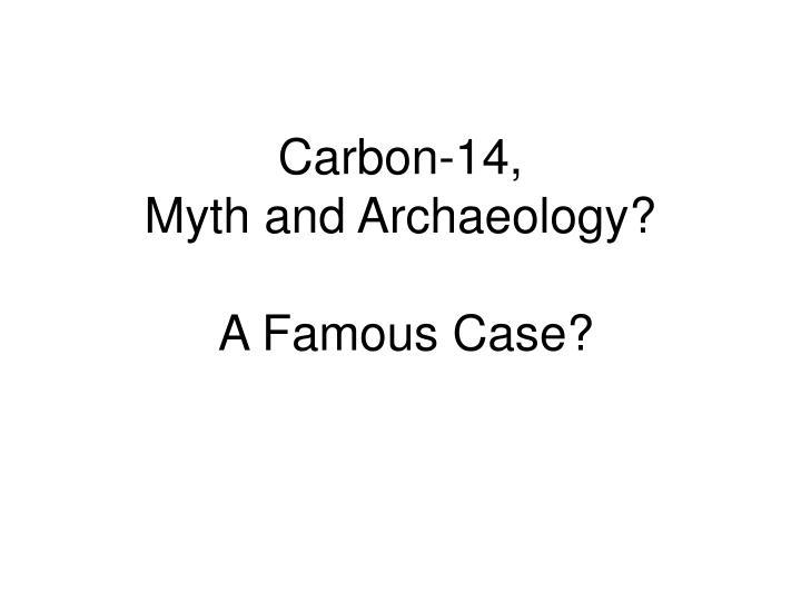 Carbon-14,