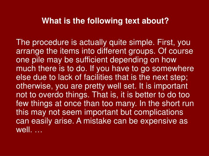 What is the following text about?