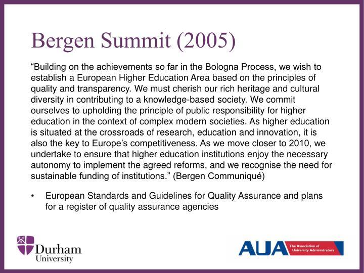 Bergen Summit (2005)