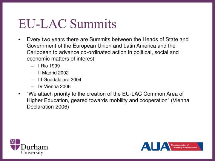 EU-LAC Summits