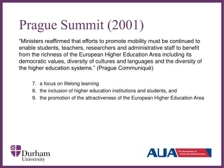 Prague Summit (2001)