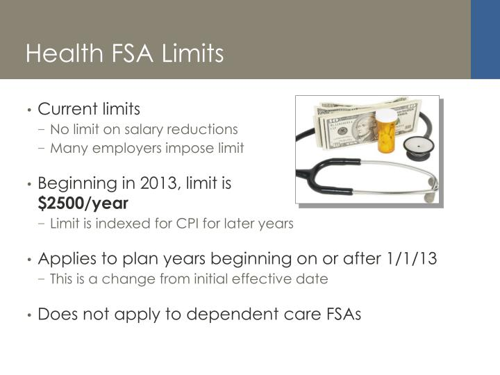 Health FSA Limits