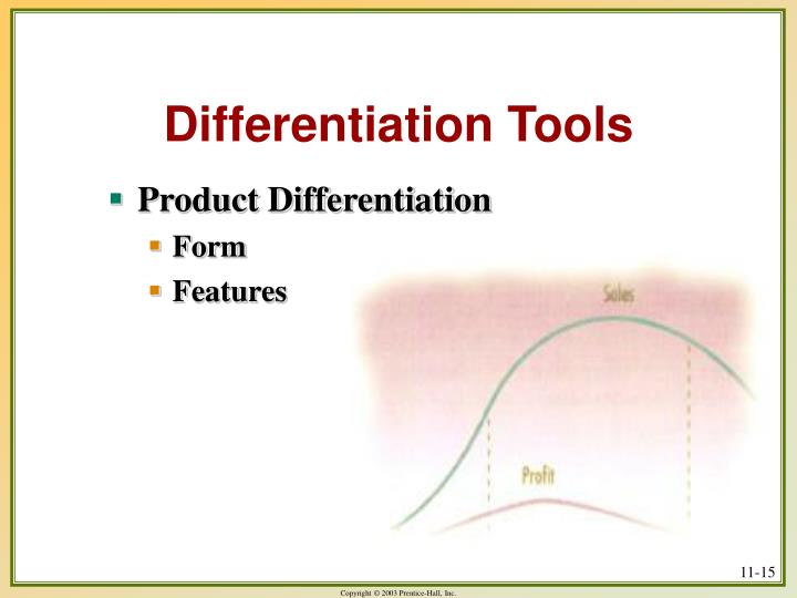 Differentiation Tools