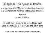 judges 3 the cycles of trouble