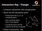 intersection ray triangle1