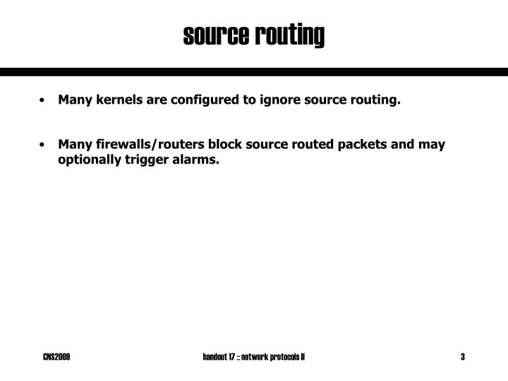 Source routing1