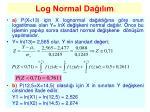 log normal da l m3