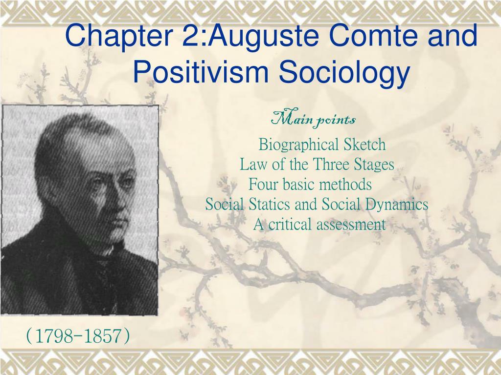 comte positivism definition