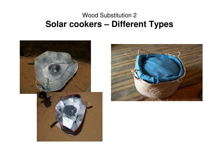 Wood Substitution 2