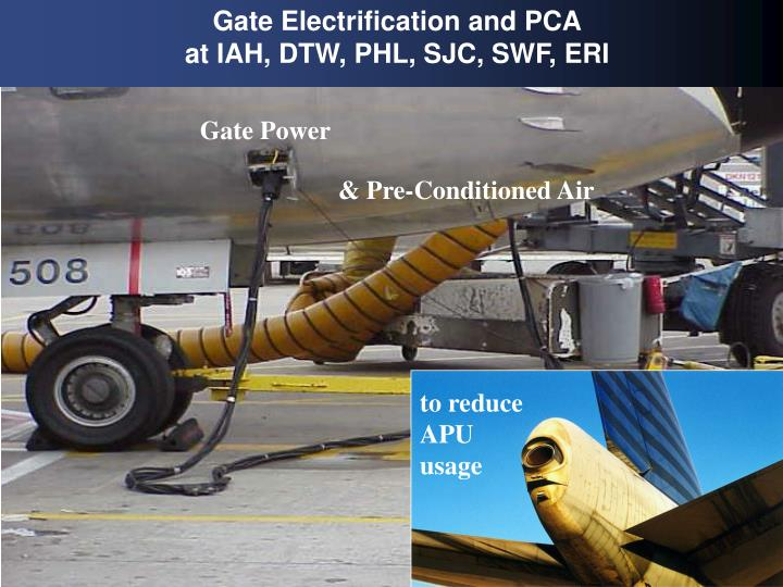 Gate Electrification and PCA