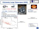 extremely large telescopes 2020
