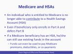 medicare and hsas