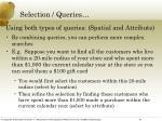 selection queries3