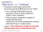 example 2 blue jeans vs clothing