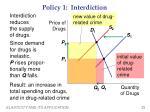 policy 1 interdiction
