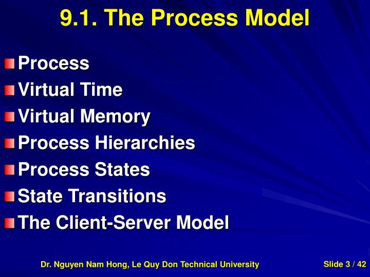 9 1 the process model