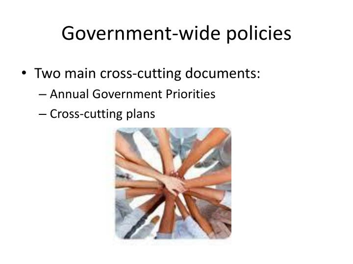 Government-wide policies