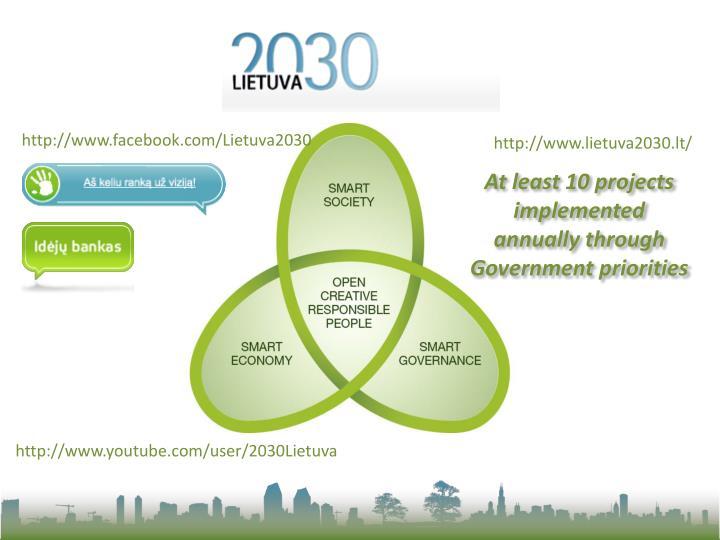 http://www.facebook.com/Lietuva2030