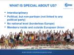 what is special about us
