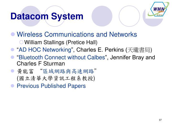 Datacom System