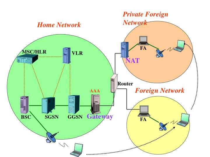 Private Foreign Network