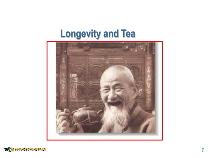 longevity and tea n.