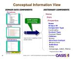 conceptual information view