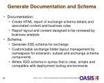 generate documentation and schema