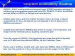 long term sustainability roadmap