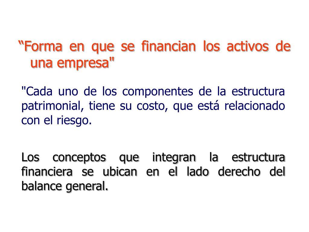 Ppt Estructura Financiera De Capital Powerpoint