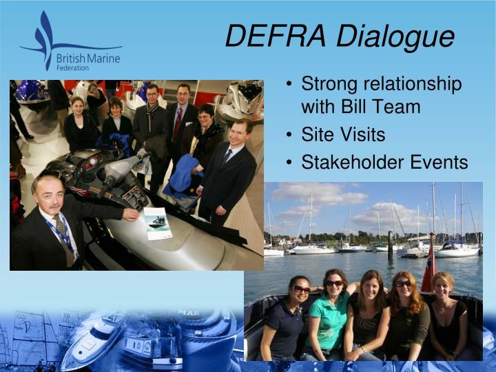 DEFRA Dialogue