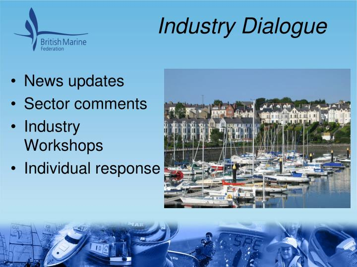 Industry Dialogue