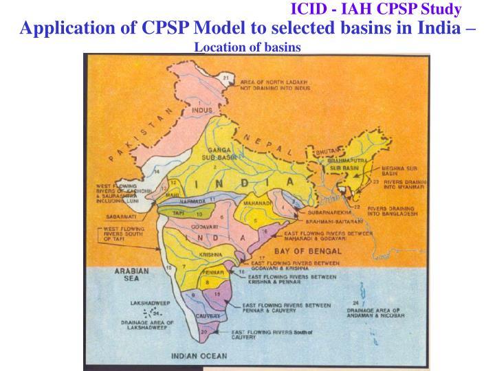 ICID - IAH CPSP Study