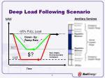 deep load following scenario